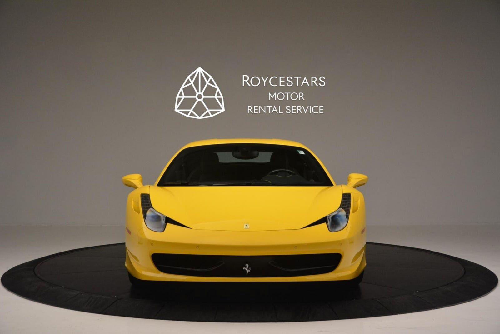 Used 2011-Ferrari-458-Italia-4
